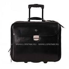 <b>Портфель дорожный</b> кожаный <b>Vasheron</b> 9807-Black, Черный ...
