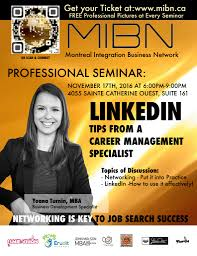 mibn our event yoana was fantastic she spoke about networking techniques elevator pitches and linkedin secrets to becoming an all star profile
