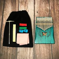 <b>17Keys kalimba Pattern</b> Acoustic Kalimba Thumb Piano Mbira Solid ...