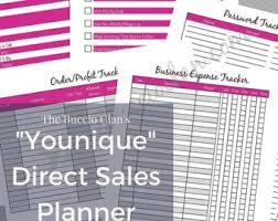 younique planner direct sales planner a5 home business business planner small business printable planner work at home bussiness planner
