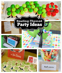 childcare daycare preschool at kiddie academy kids party ideas reading themed party ideas