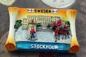 <b>Sweden Stockholm Tourist Travel</b> Souvenir 3D <b>Resin</b> Decorative ...