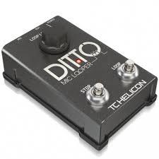 Купить <b>TC</b> HELICON DITTO MIC LOOPER - вокальная <b>педаль</b> ...