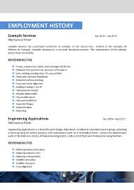 oil refinery resume resume templates mechanical maintenance engineer resume templates mechanical maintenance engineer