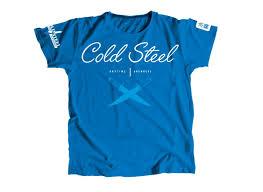 <b>Футболка</b> женская <b>Cold Steel</b> TK3 <b>Cross</b> Guard Blue Tee for ...