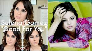 selena gomez good for you inspired makeup tutorial smokey eye