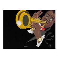 <b>Холст 30</b>×<b>40</b> Louis Armstrong #426653 от Just kidding