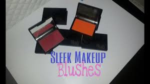 <b>Sleek Makeup Blushes</b>: Review + Swatches - YouTube