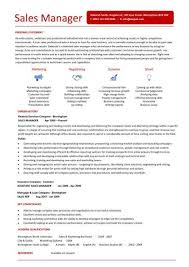 a stunning sales manager resume that uses graphics and a unique layout to draw attention to management resume format