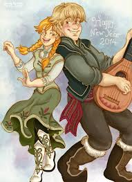 Image result for anna and kristoff tumblr