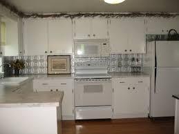 Ceiling Tiles For Kitchen Kitchen Redo Tin Ceiling Backsplash My Country Farmhouse