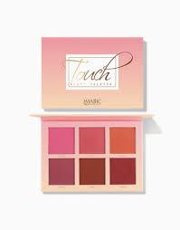 <b>6</b>-Shade Touch <b>Blush</b> Palette by <b>Imagic</b> Products | BeautyMNL