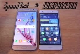 Samsung Galaxy J7 vs Huawei P8 Lite - Speed Test & Full ...