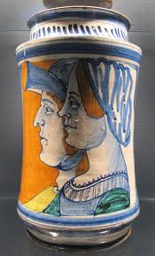 best images about italian renaissance ceramics ceramiche naples or faience albarello inscription lucrecia tiberio ca 1480 1500 renaissance majolicarenaissance ceramicsitalian