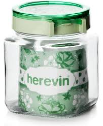 <b>Банка</b> для сыпучих <b>продуктов Herevin</b>, 143010-500, с крышкой, 1 ...