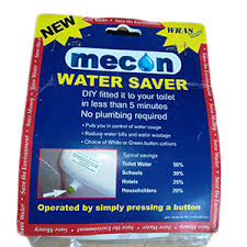 Mecon Toilet <b>Water Saver</b> - My Eco Hub