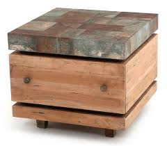 industrial chic end table chic industrial furniture