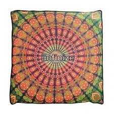 Mandala <b>Dog Bed Cushion</b> Cover Bay Play Bed Cover Meditation ...