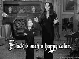 <b>Black is my happy</b> colour - OX SEVEN