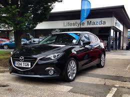 Black Mazda 3 2014 Mazda 3 Sport Nav 22l For Sale At Lifestyle Mazda Crawley