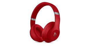 <b>Беспроводные мониторные наушники Beats</b> Studio3, красный цвет