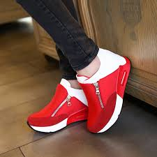<b>2019</b> New <b>Women</b> Casual <b>Shoes</b> Height Increasing Breathable ...