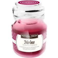 Ароматизированная <b>свеча Natural</b> fresh select DIVINE <b>scented</b> ...