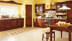 affordable kitchen cabinets and dark brown teak wood kitchen cabinet with several drawers and storage using affordable kitchen furniture