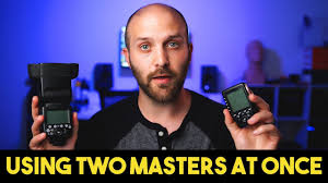 Using 2 Godox Masters at Once (V860II, X-Pro, X1-T, TT685 ...
