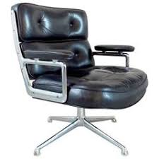 eames time life lobby chair circa 1970 antique leather office chair