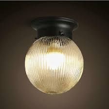 american country style loft vintage wall lamps round crystal glass wall lights home decor wall sconce american country style loft