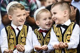 Image result for children pray eid