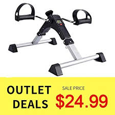 SYNTEAM Foldable Pedal Exerciser with LCD ... - Amazon.com