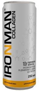 <b>Напиток COLLAGEN</b>, <b>цитрусовый</b> микс, 0,25 л, <b>IRONMAN</b> - купить ...