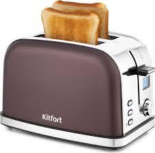 <b>Тостер Kitfort</b> КТ-<b>2036</b>, темно-коричневый — купить в интернет ...