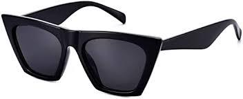 Mosanana Square Cateye Sunglasses for Women <b>Fashion Trendy</b>