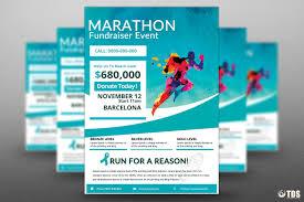 fundraiser flyer template teamtractemplate s bies marathon fundraiser flyer psd templates store pvrxi7kn