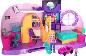Mattel <b>Polly Pocket Комната Полли</b> / FRY98 Игровой набор купить ...