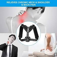 Tomight <b>Back Posture</b> Corrector for Women & Men, <b>Adjustable Back</b> ...