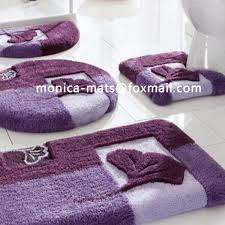bathroom rugs set 3 piece