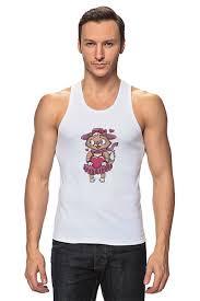 """Майка классическая """"<b>Романтика</b>. Парные футболки"""" #659806 от ..."""