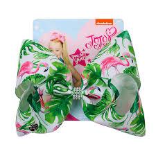 """<b>8</b>"""" Jojo <b>Bows</b> for Girls <b>Jojo Siwa</b> Large Flamingo Printed Hair <b>Bows</b> ..."""