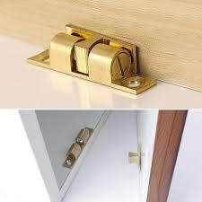 42/50/60/70mm <b>Brass Door Stop</b> Lock Buckle Door Touch Latch ...