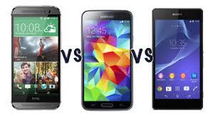 HTC One (M8) vs Samsung Galaxy S5 vs Sony Xperia Z2: Which is ...