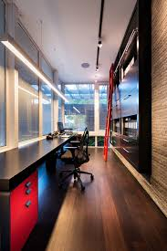 modern office chairs home office contemporary with black and red study black contemporary home office