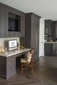 Would Love To Update My Kitchen Desk Area Like Thisu2026 Tv On Wall And Drawers For Mail Slots Or Make Them Closed So Less Clutter Shows Also Switch Out The