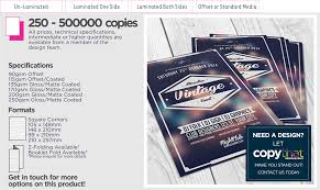 flyers copythat design print hub a little more info
