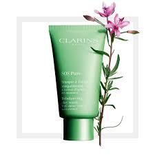 <b>Очищающая маска</b> CLARINS® SOS Pure с экстрактом кипрея ...