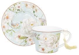 <b>Elan gallery Чайная пара</b> Дикая роза 420192 — купить по ...
