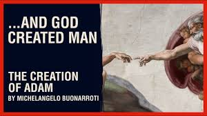 ...AND GOD CREATED MAN: The <b>Creation of Adam</b> by ...